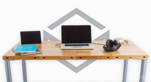 Модульный стол с большим количеством конфигураций (14 фото + видео)