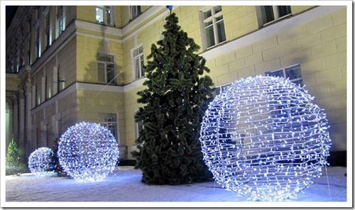 Монтаж декоративного освещения. советы в отношении организации праздничной иллюминации.