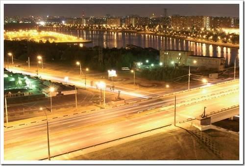 Монтаж светодиодных фонарей для уличного освещения. экономия достигает невообразимых высот.
