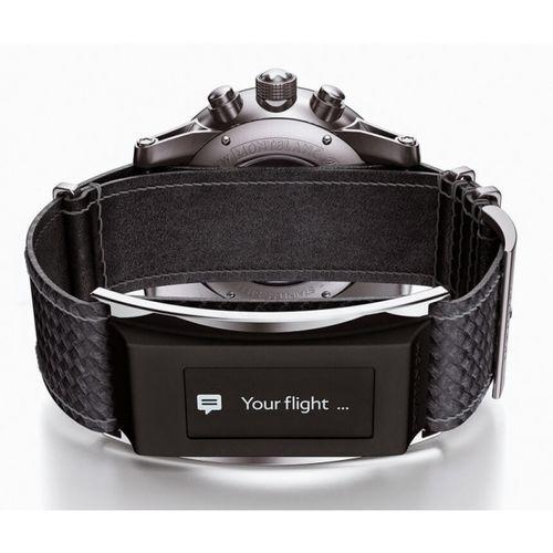 Montblanc e-strap — умный ремешок для часов