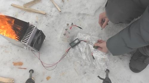 Мощный генератор на 12 модулях пельтье