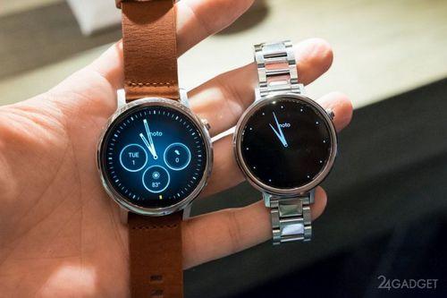 Moto 360 модифицировали в карманные смарт-часы (3 фото)