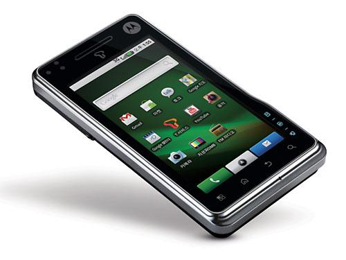 Motorola официально представила смартфон milestone 2