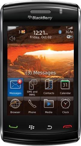 Мтс и rim представили в россии новый смартфон blackberry storm2 9520