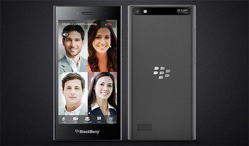 Mwc 2015. blackberry представляет недорогой смартфон-моноблок leap и таинственный слайдер