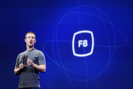 На конференции facebook показали беспилотники и искусственный интеллект