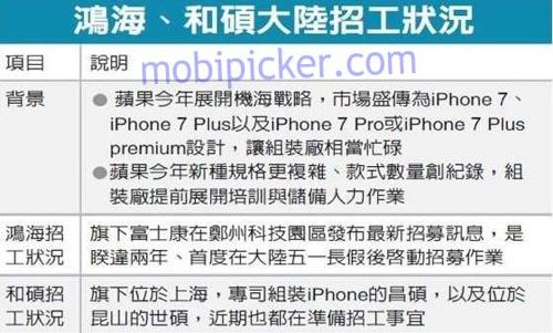 Начался выпуск iphone 7 со «сложным дизайном»
