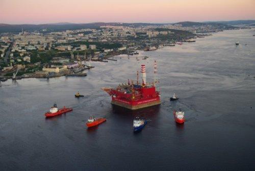 Напервой вмире арктической платформе добыли 2,5 млн. тонн нефти - «энергетика»