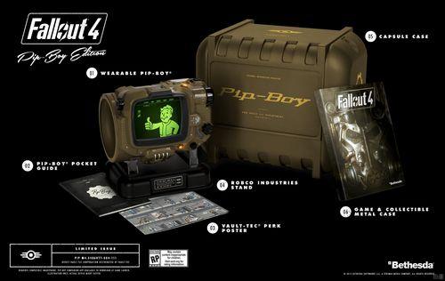 Наручных pip-boy для fallout 4 может не хватить на всех