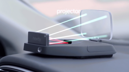 Navdy - аналог google glass для автомобилей