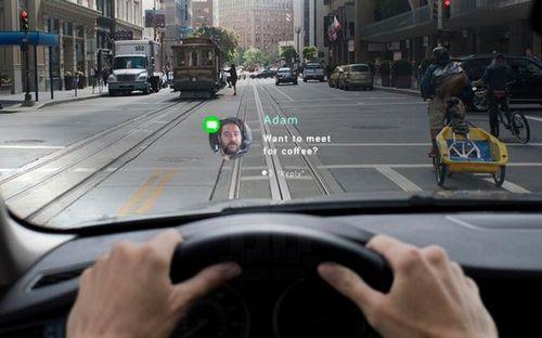 Navdy: проекционная система уведомлений для автомобиля с жестовым управлением