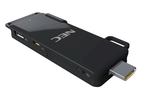Nec анонсировал беспроводной hdmi-адаптер для презентаций