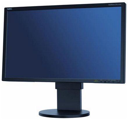 Nec представляет full hd монитор с 23-дюймовой ips-матрицей