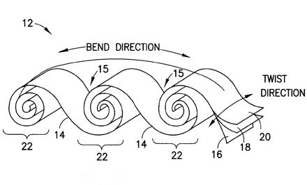 Nokia патентует гибкую батарею, похожую на рулет с вареньем