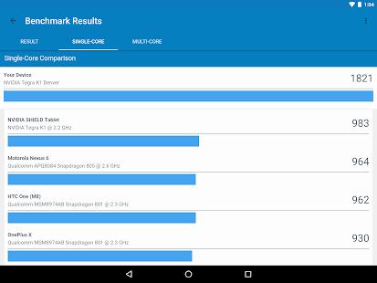 Новая версия geekbench определяет реальную производительность устройств