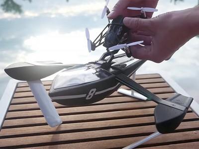 Новые мини-дроны parrot покорят воздух, землю и воду