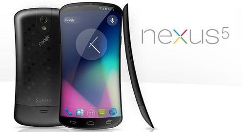 Новые слухи о смартфоне google nexus 5