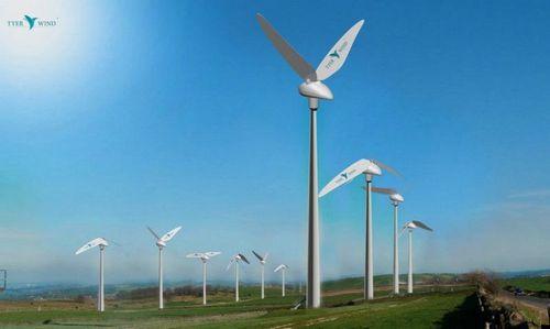 Новый дизайн ветряных турбин