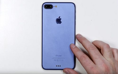 Новый iphone 7 впервые попал на видео