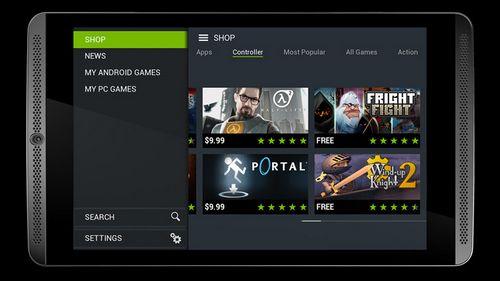Nvidia представляет 8-дюймовый игровой планшет shield tablet
