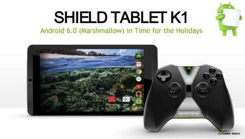 Nvidia shield tablet k1 начал обновляться до android 6.0.1