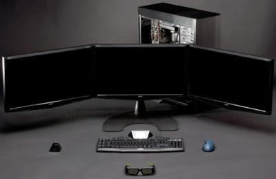 Nvidia вывела в свет технологию 3d vision surround