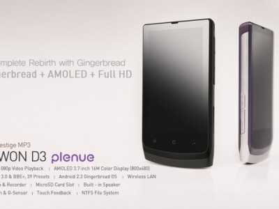 Обновление прошивки cowon d3 plenue до android 2.3