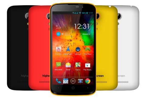 Обновлённая версия highscreen omega prime mini поступила в продажу