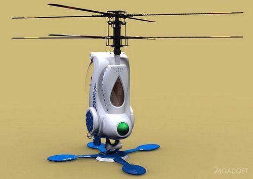 Одноместный вертолет из индии (4 фото)