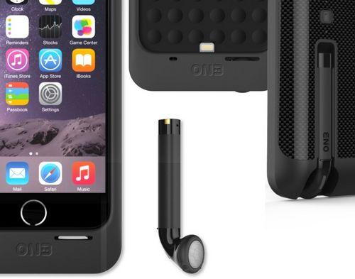 On3 powercliq - чехол со встроенной bluetooth-гарнитурой для iphone