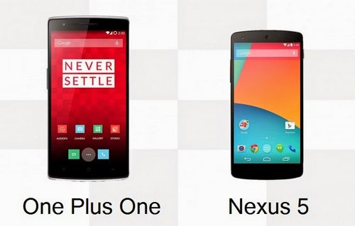 Oneplus one и nexus 5: сравнение скорости загрузки