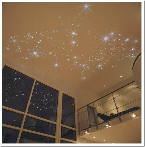 Оптоволоконное освещение: звездное небо и другие эффекты