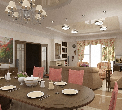 Освещение в гостиной: описание, основные зоны, фото-идеи