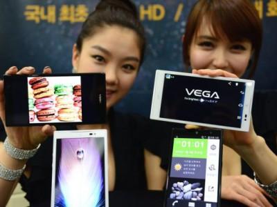 Pantech vega no. 6 вышел в продажу в гонконге