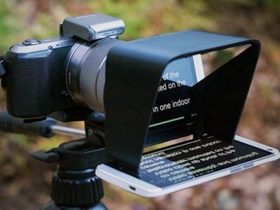 Parrot - компактный телесуфлёр для записи видео
