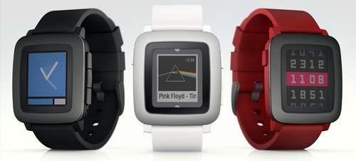Pebble time бьют все рекорды на kickstarter
