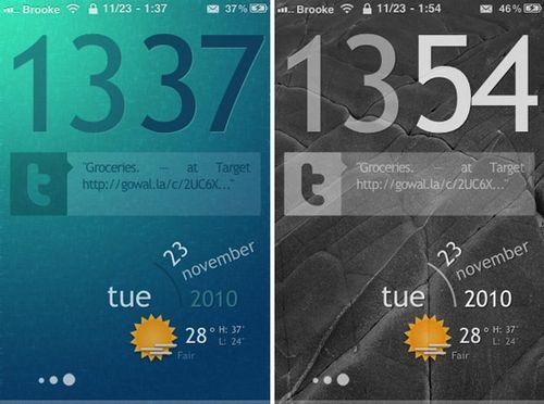 Персонализация джейлбрейкнутых iphone (5 фото)