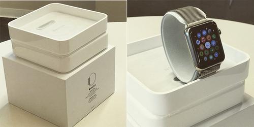 Первое видео с распаковкой часов apple watch (3 фото + видео)
