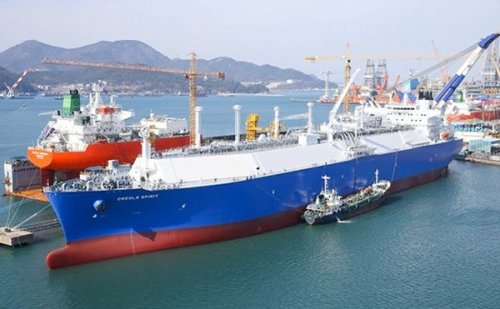 Первый танкер сосжиженным газом отправился изсша вевропу - «энергетика»