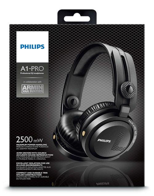 Philips a1-pro: диджейские наушники от армина ван бюрена