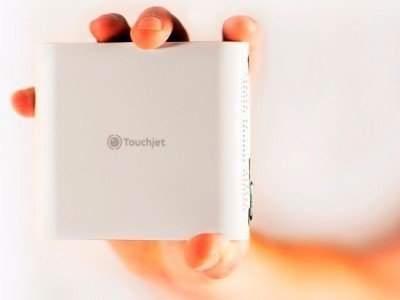 Пико-проектор touchjet pond может поместиться в кармане