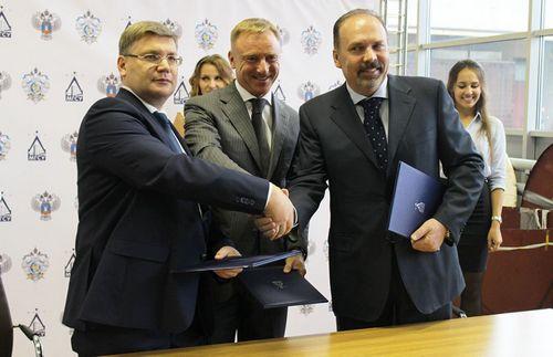 Подписано соглашение о создании инновационного центра «строительство»