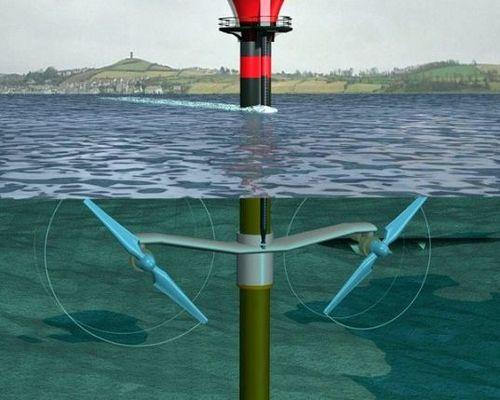 Подводная турбина как надежный источник электрической энергии