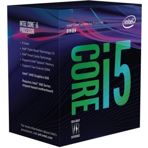 Появились изображения упаковок настольных процессоров intel core i5 и core i7 восьмого поколения. core i3 пока ждать не стоит