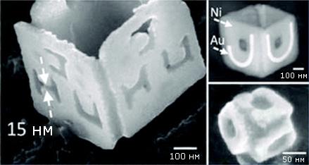 Показана возможность изменения структуры поверхности наночастиц