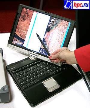 Portеgе 3500 – гибрид планшетного пк и ноутбука