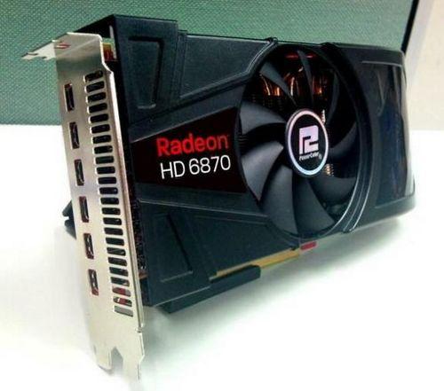 Powercolor готовит видеокарту radeon hd 6870 eyefinity 6