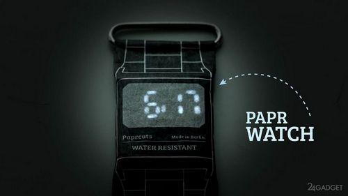 Практичные полиэтиленовые часы papr watch (12 фото + видео)