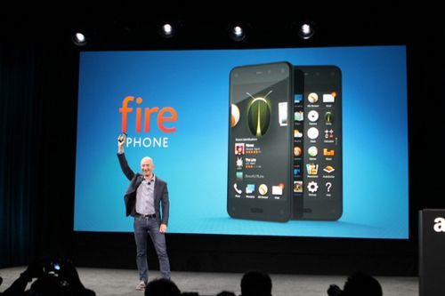 Представлен 3d-смартфон amazon fire phone