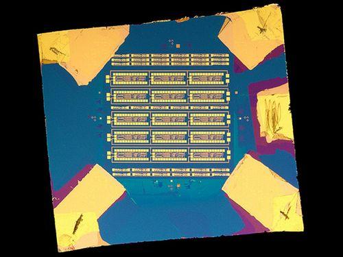 Представлен самый сложный на сегодняшний день микрочип, изготовленный из двумерного материала